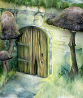 Door through Faerie by myceliae
