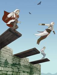 Leap of Faith by doubleleaf