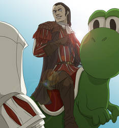 Follow me Ezio by doubleleaf