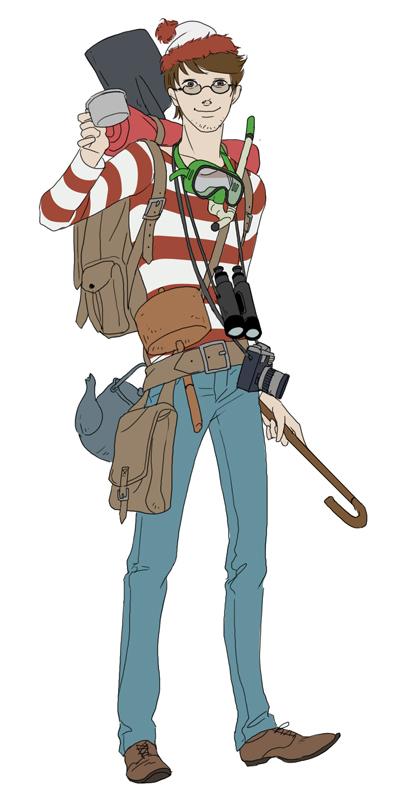 Here's Waldo by doubleleaf