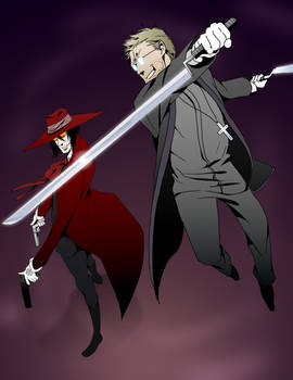 Alucard and Anderson