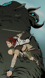 Shadow of the Colossus by doubleleaf