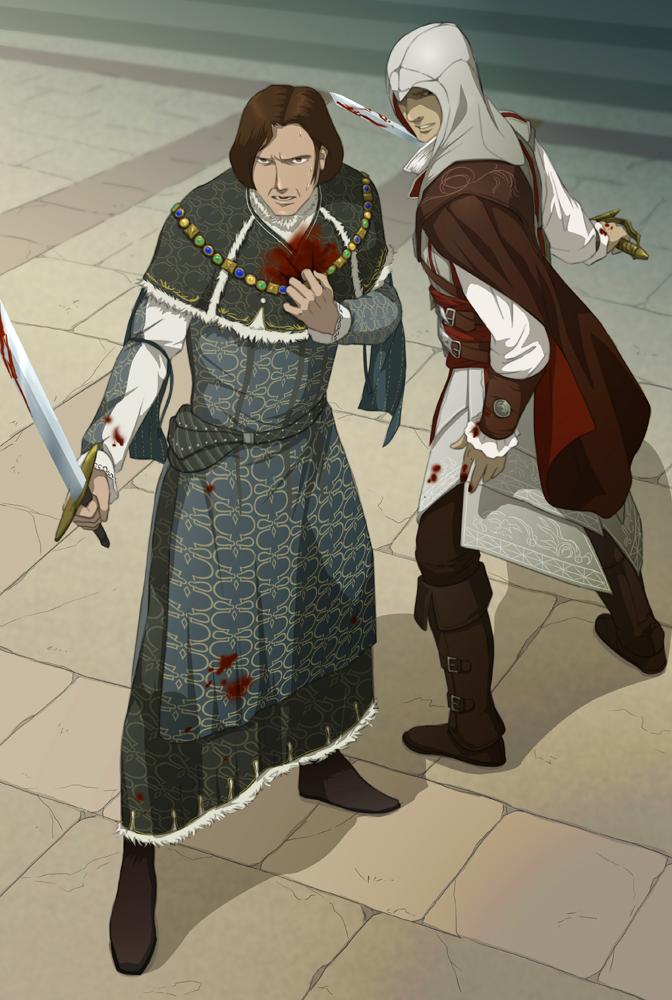 Defend Lorenzo de' Medici by doubleleaf