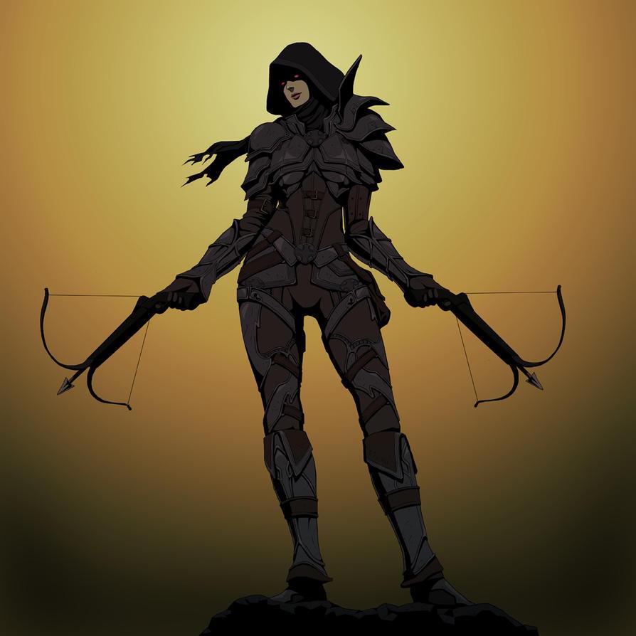 Demon Hunter by doubleleaf
