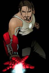 Tony Stark by doubleleaf