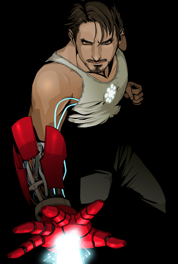 Tony Stark by doubleleaf