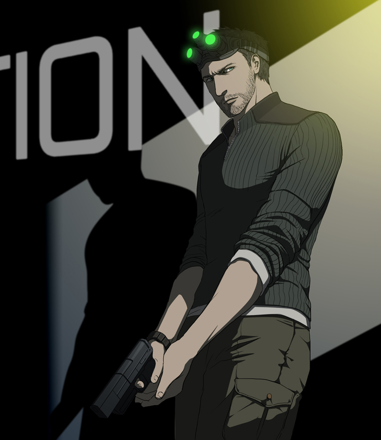 Sam Fisher by doubleleaf