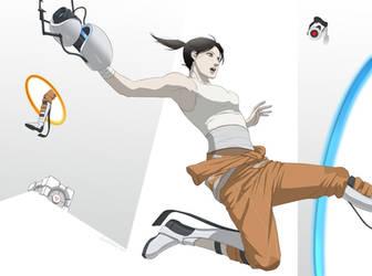 Portal 2 by doubleleaf