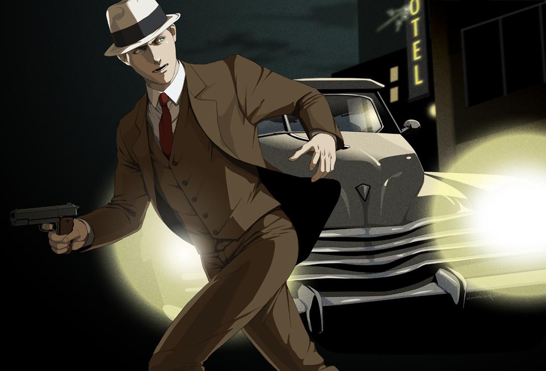 L.A. Noire by doubleleaf