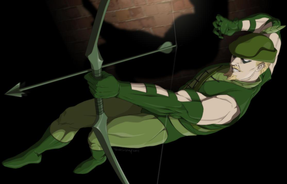 Green Arrow by doubleleaf