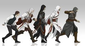 Evolution of Ezio
