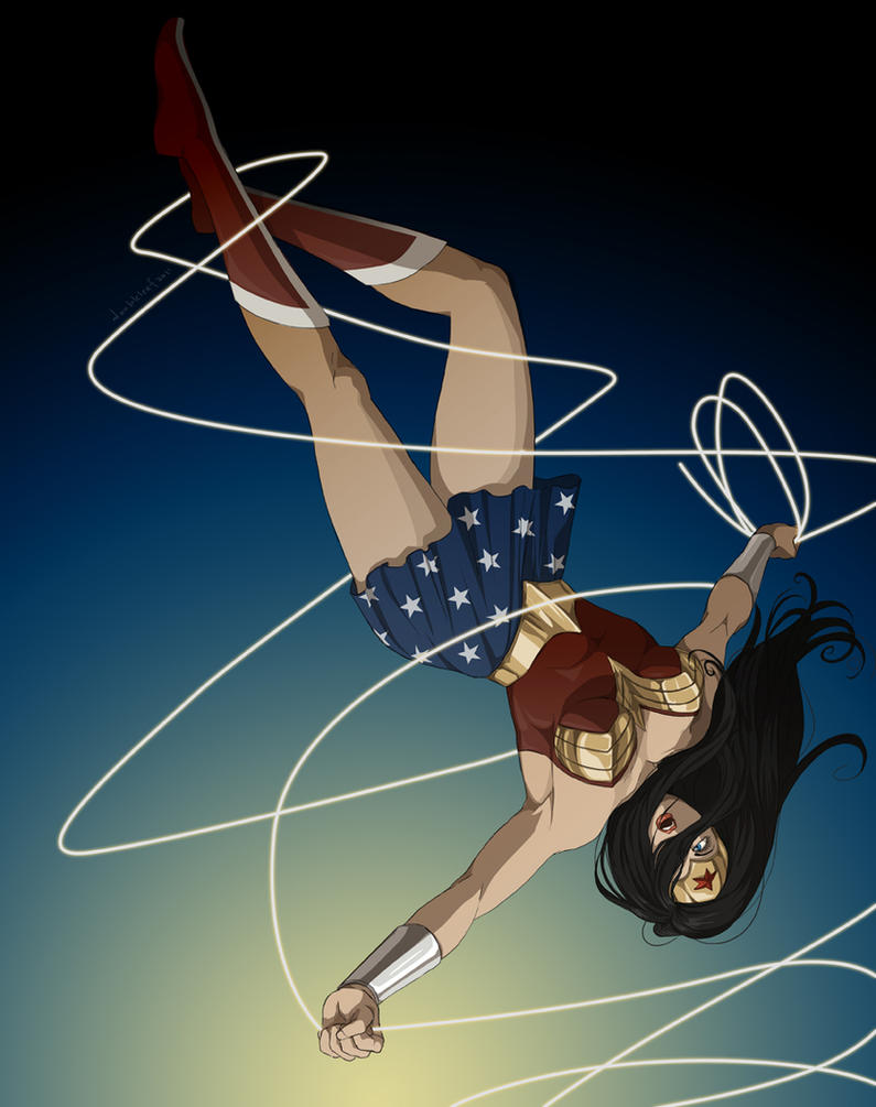Wonder Woman by doubleleaf