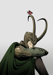 Loki by doubleleaf