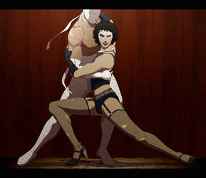 F for Frank-N-Furter by doubleleaf