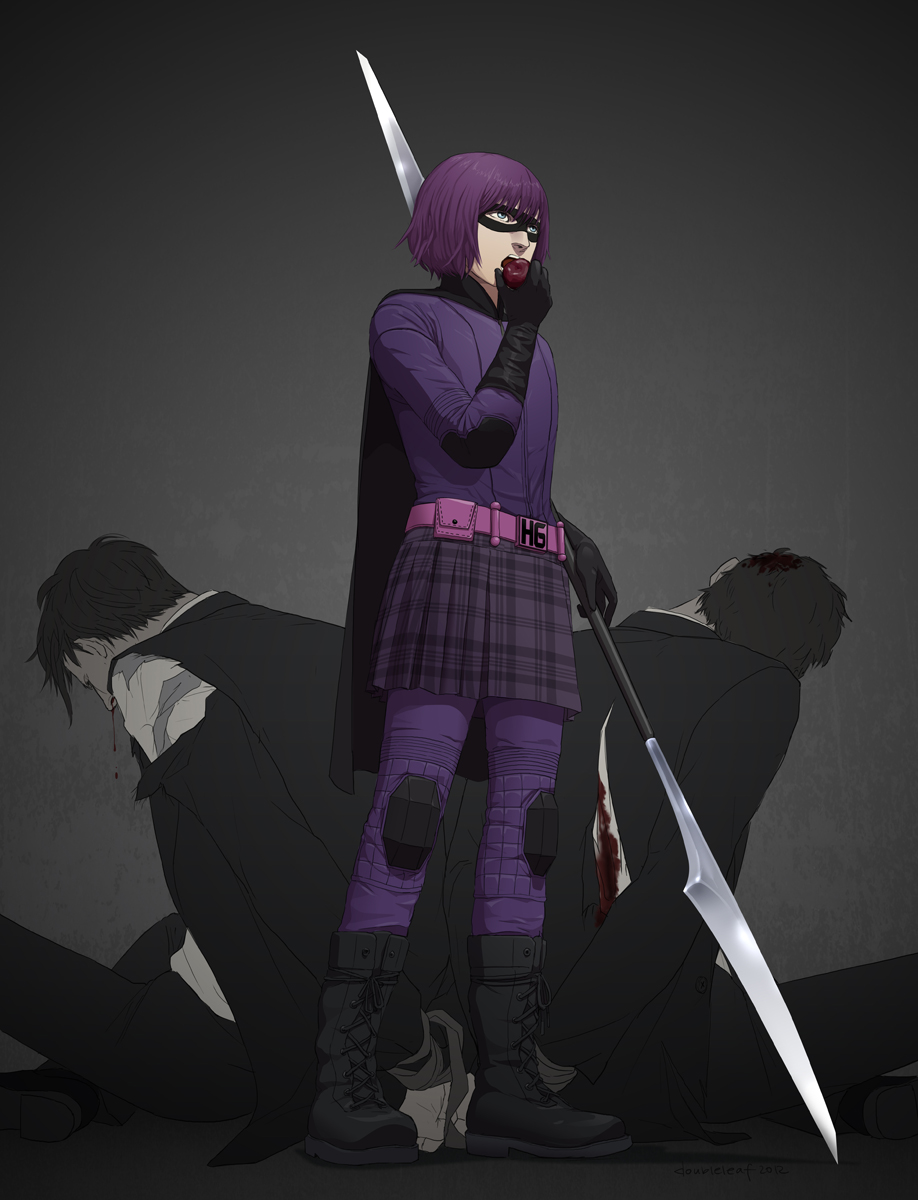 H for Hit-Girl by doubleleaf