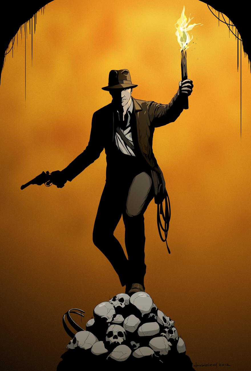 I for Indiana Jones by doubleleaf