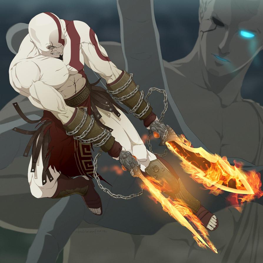 K for Kratos by doubleleaf