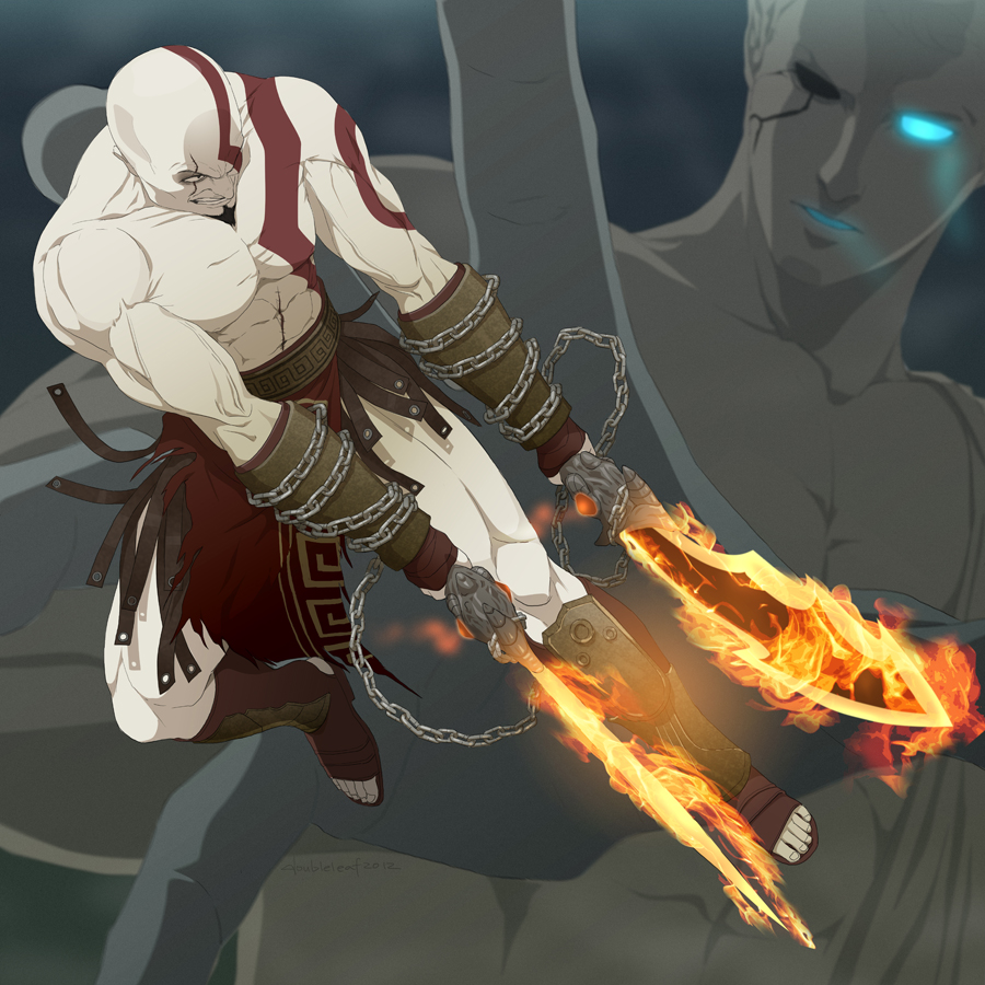 K for Kratos by doubleleaf
