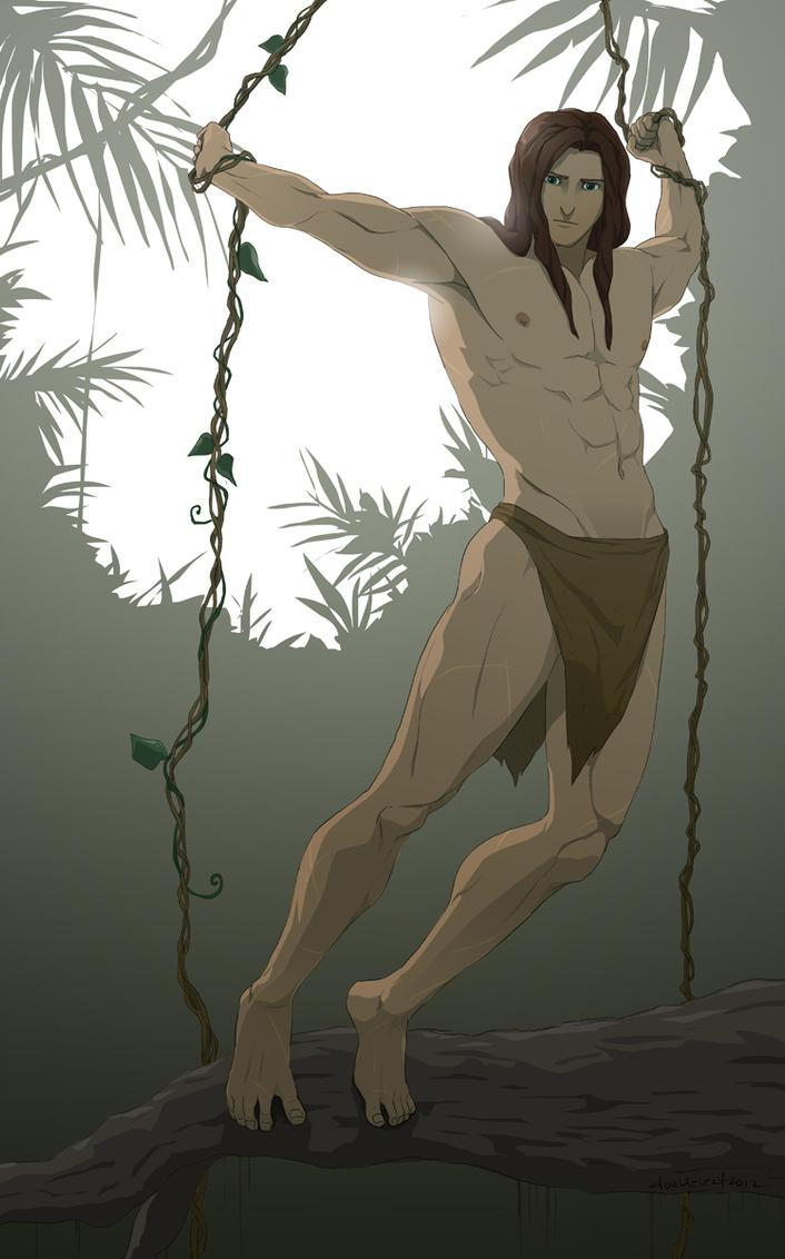 T for Tarzan by doubleleaf
