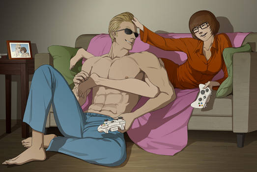 Commission:Johnny and Velma