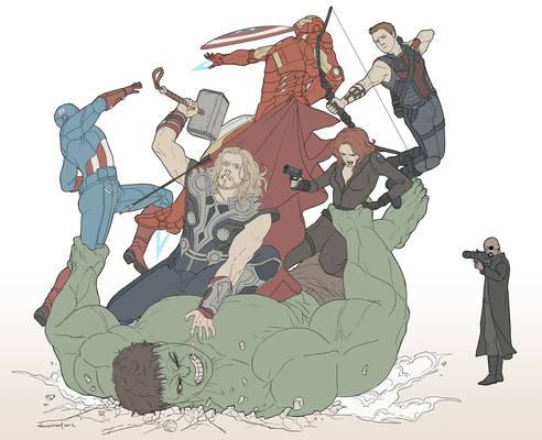 Avengers Disassemble