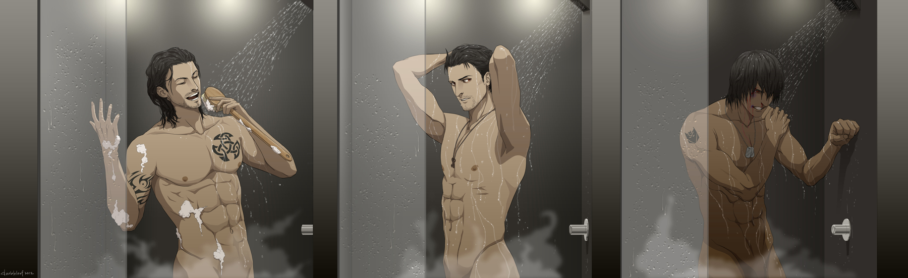 Commission: Seekers in Shower