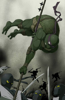 D is for Donatello