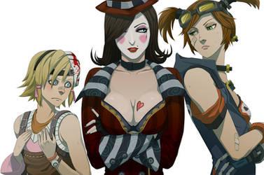 BL2 girls by doubleleaf