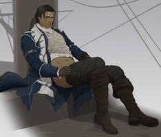 Commission:Captain Connor by doubleleaf