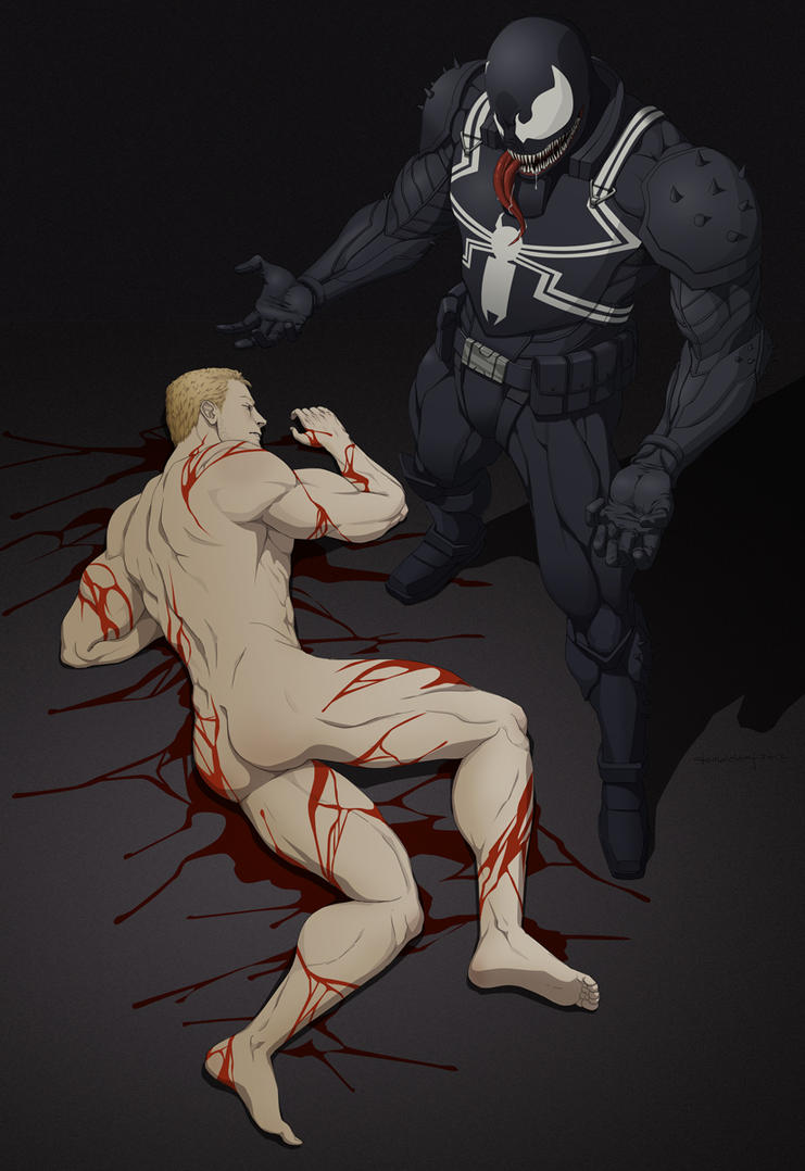 Commission: Eddie Brock Down by doubleleaf