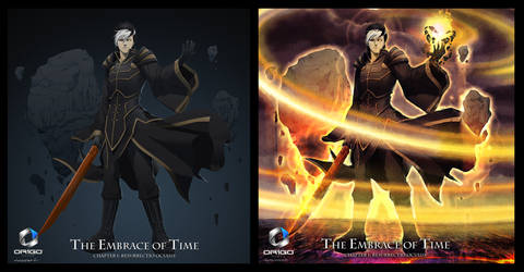 Seth [The Embrace of Time] by doubleleaf