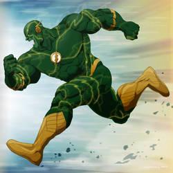 Flash Hulk by doubleleaf