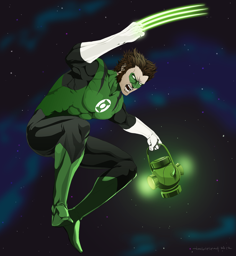 Green Wolverine by doubleleaf