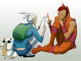F is for Fionna and Flame Prince