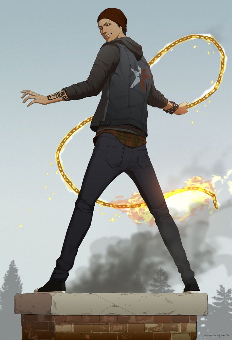 Delsin Rowe by doubleleaf