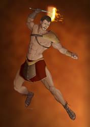 Revenge of the Pantheons : Hephaestus by doubleleaf