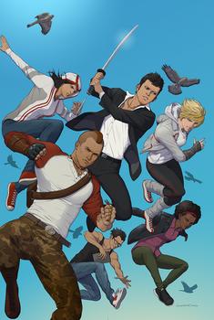 Cover Art - Titan Comics Assassin's Creed #1