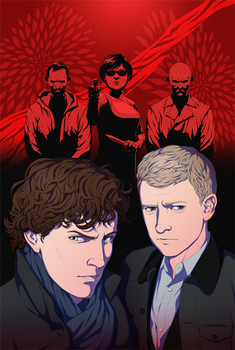 Titan Comics: Sherlock The Blind Banker #6 Cover