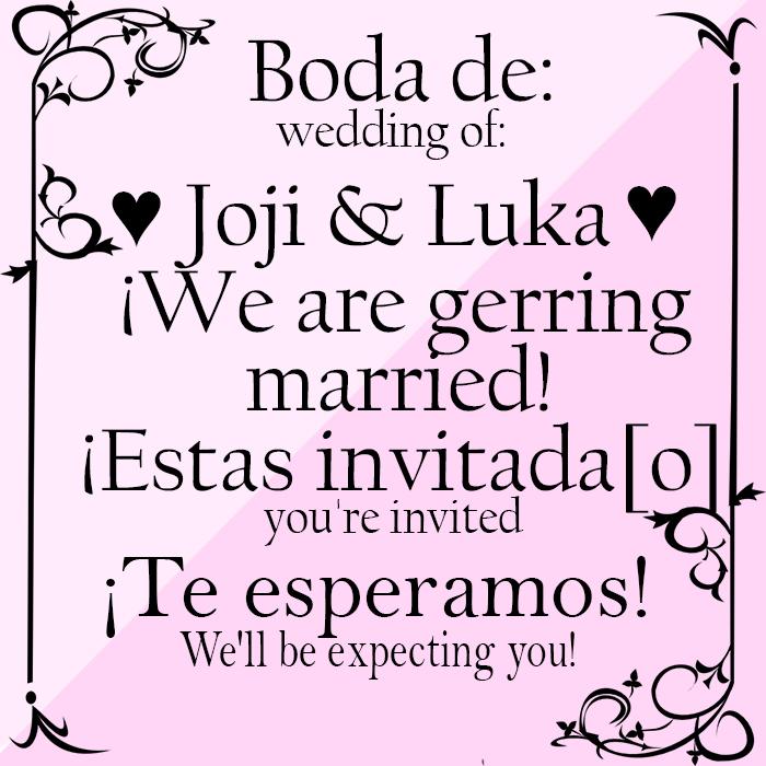 Invitacion Al Matrimonio by loligirlmikufan