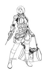 Spacer -Lineart-