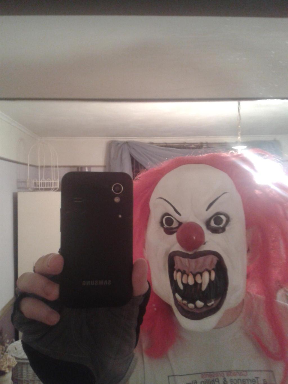 Pennywise/It Halloween Mask by WonkyTonkBotty on DeviantArt