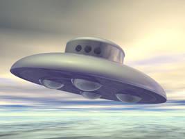 Ol fashioned UFO by Xristel