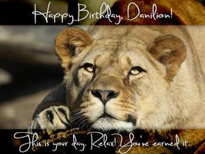 Happy Birthday Danilion!