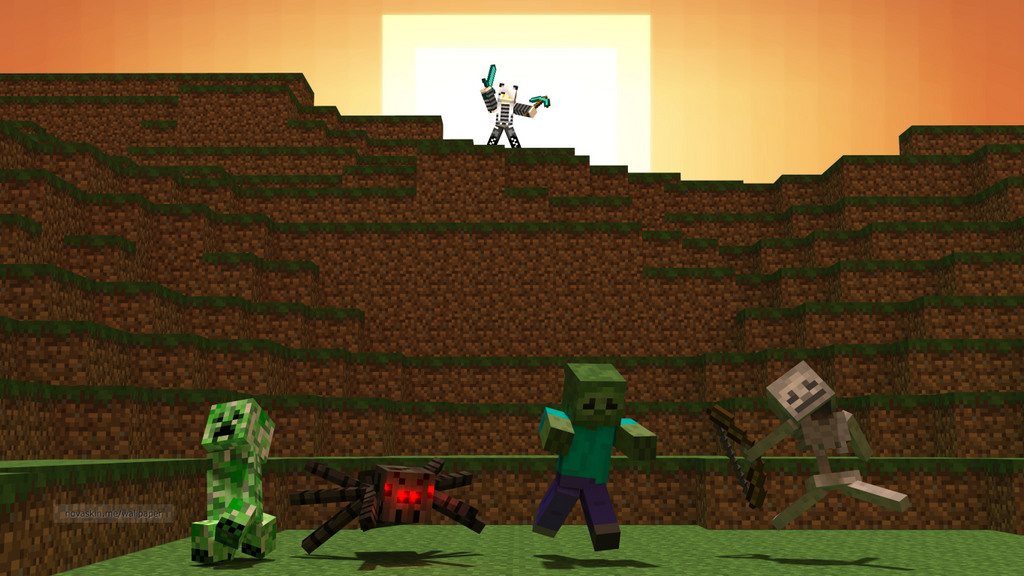 novaskin minecraft wallpaper 10 by star firedragon mc on
