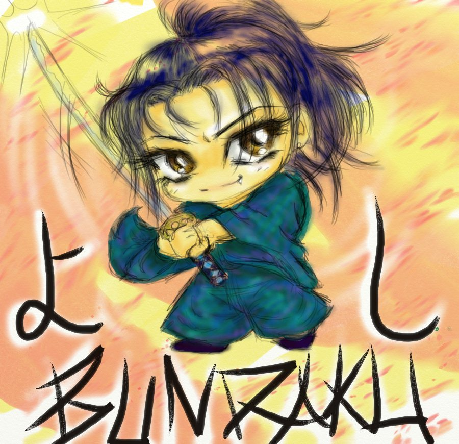 GACKT aka Yoshi from BUNRAKU by Kohakuchuu