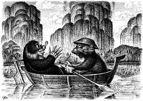 Wind in the Willows - Mole and Ratty by nik159