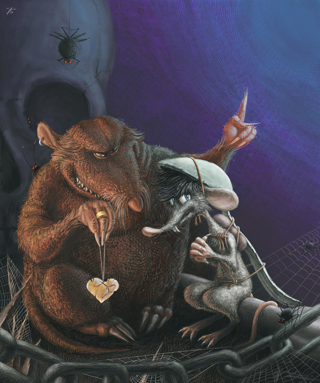 Despereaux - Botticelli and Roscuro 2 by nik159