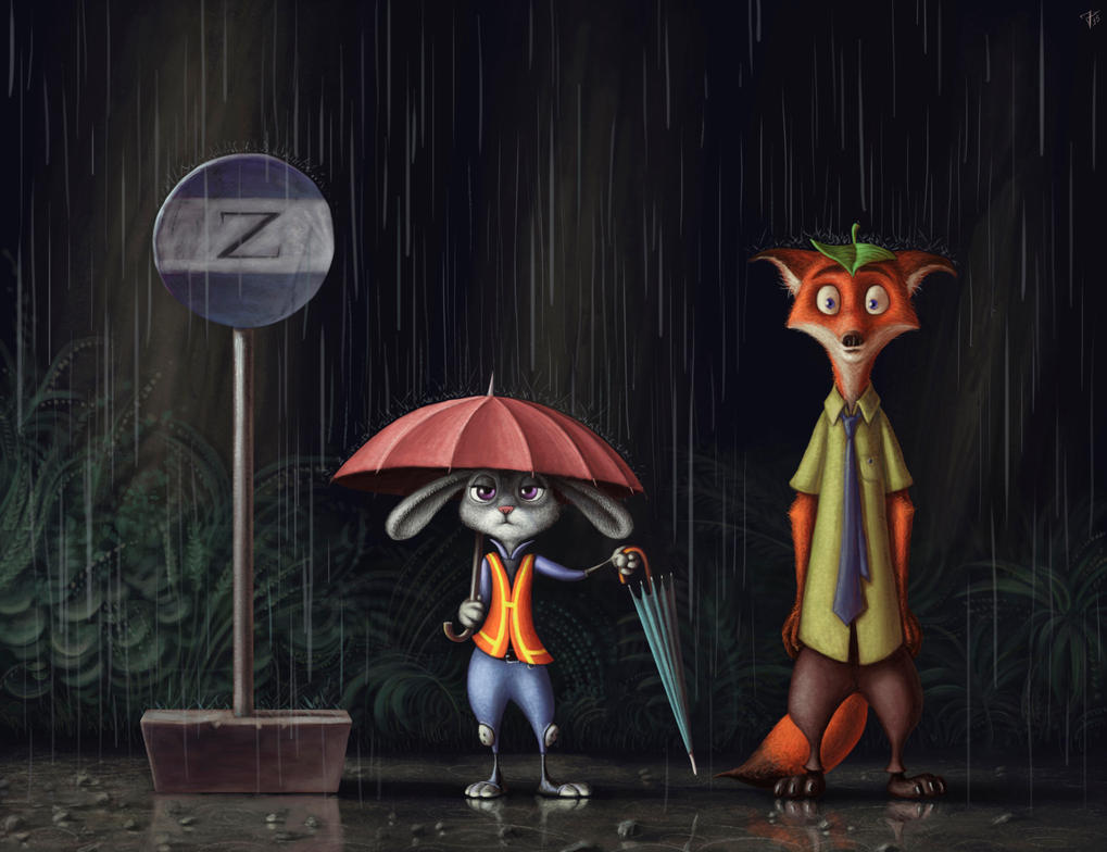 Zootopia - My Neighbor Nick Wilde by nik159