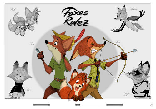 Foxes Rulez