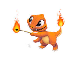 Art of Nik - 001 - Charmander by nik159